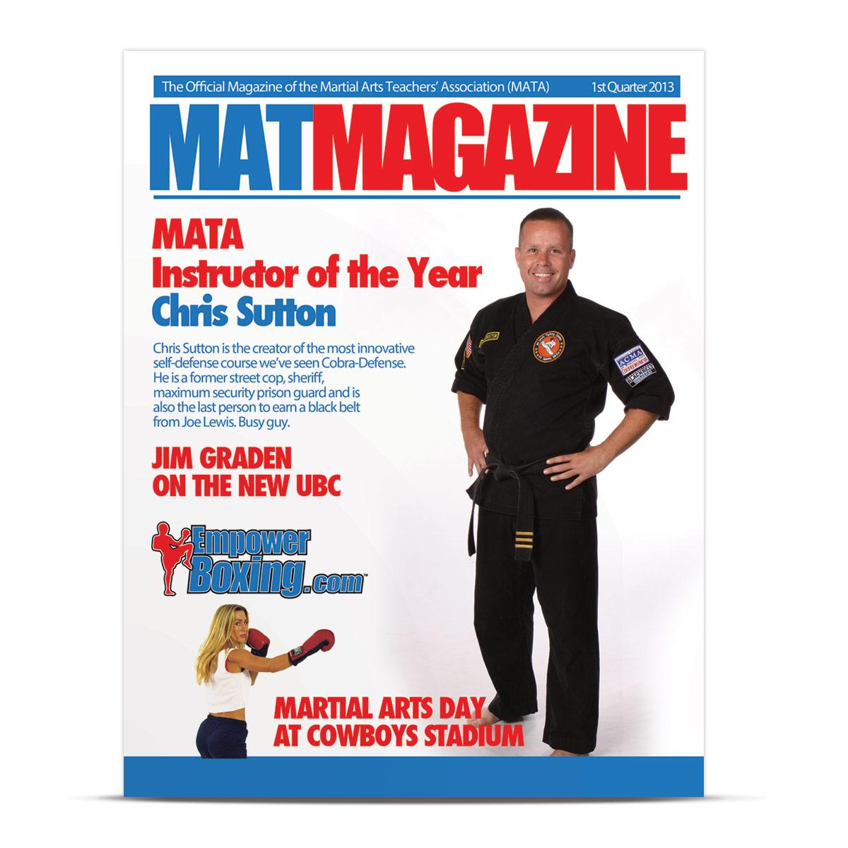 MAT Magazine cover