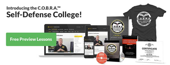 Self-Defense College online and home study course
