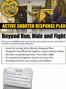 Active Shooter plan class